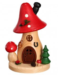 Incense figure mushroom house fly agaric curved and high