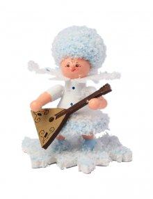 Snow Maiden with balalaika
