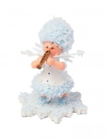 Snow Maiden with a flute