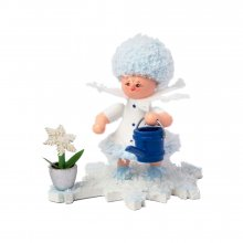 Snowflake with watering can