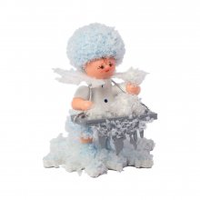 Snowflake with ice balls