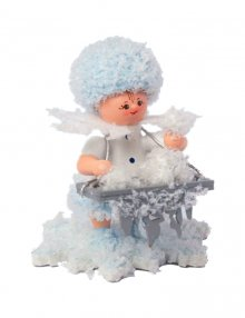 Snow Maiden with ice balls