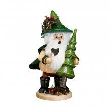 Smoking man tree thief, green