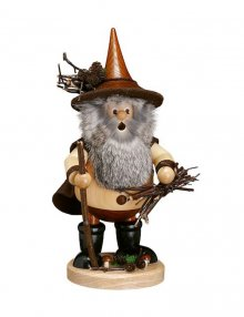 Smoker wood gnome wood collector, natural