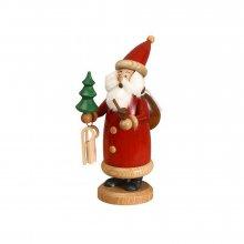 Smoker Santa Claus red, small