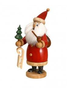 Smoker Santa Claus red