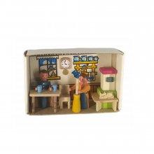 Matchbox farmhouse parlor