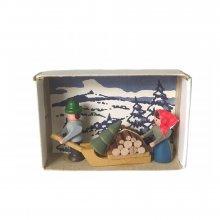 Matchbox wood collector