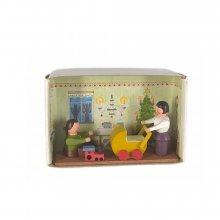 Matchbox Christmas room
