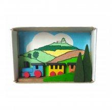 Matchbox railroad