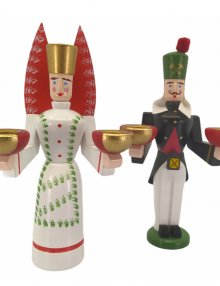 Candlestick angel and miner spotted, small