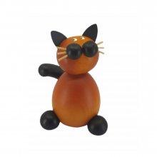 Sitting cat pompom