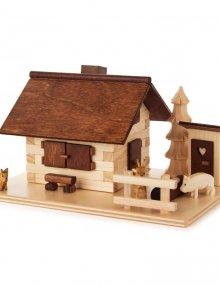 Smokehouse adventure courtyard with animals