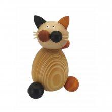 Calico cat Lu sitting