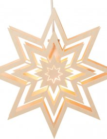 Window picture star, electric