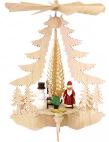 Pyramid with Christmas figures