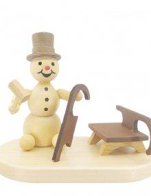 Snowman sledge builder