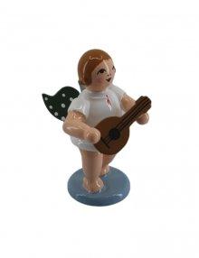 Angel with mandolin, no crown