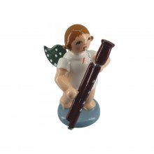 Angel with bassoon, no crown