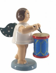 Angel with agitator drum without cown