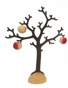 Tree with 3 apples