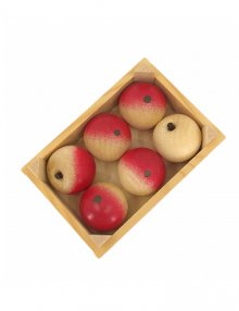 Fruit crate with 6 apples