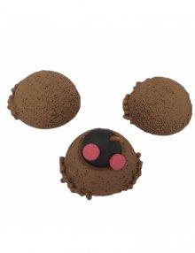 Mole with molehill, 3-part.