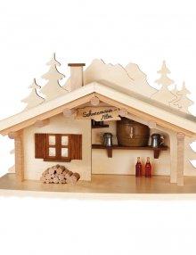Smokehouse alpine hut