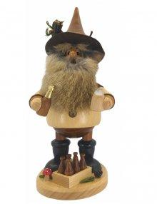 Smoking man Gnome beer lover