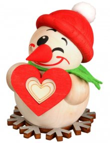 Ball smoking figure Cool-Man with a heart