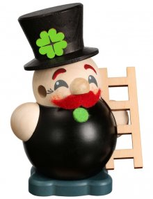 Ball smoking figure Cool-Man chimney sweep