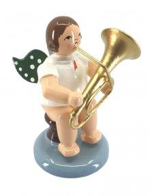angel with tuba, no crown