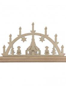 Miniature Light Arch Seiffener Church simple