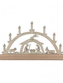 Miniature Light Arch Birth of christ simple