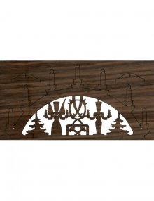 puzzle card candle arch