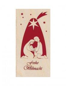 Christmas card crib